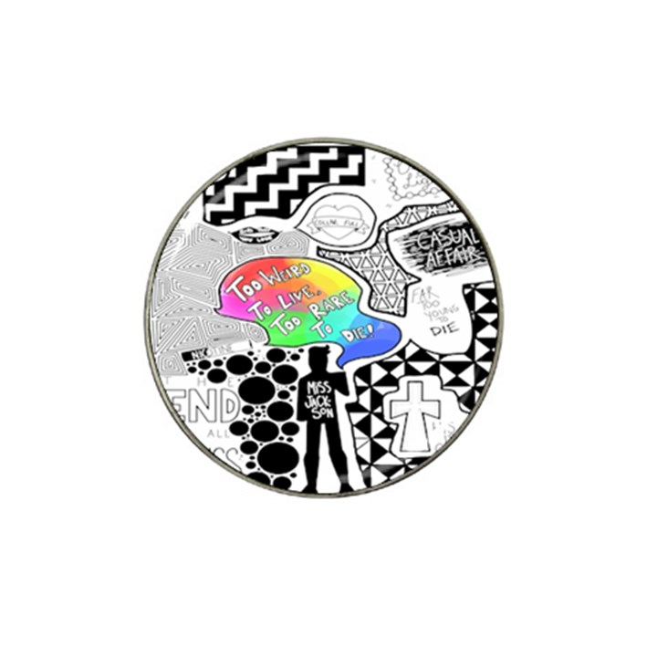 Panic ! At The Disco Hat Clip Ball Marker (4 pack)