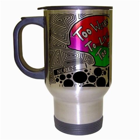 Panic ! At The Disco Travel Mug (Silver Gray)