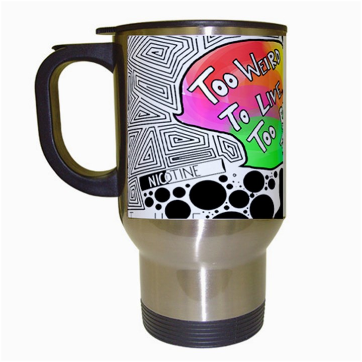 Panic ! At The Disco Travel Mugs (White)