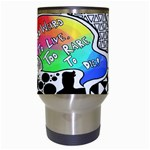 Panic ! At The Disco Travel Mugs (White) Center