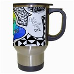 Panic ! At The Disco Travel Mugs (White) Right