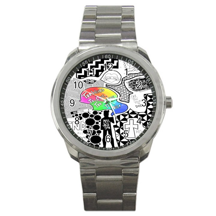 Panic ! At The Disco Sport Metal Watch