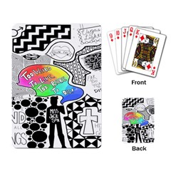 Panic ! At The Disco Playing Card