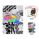 Panic ! At The Disco Playing Card Back