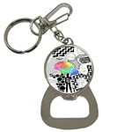 Panic ! At The Disco Bottle Opener Key Chains Front