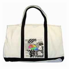 Panic ! At The Disco Two Tone Tote Bag
