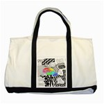 Panic ! At The Disco Two Tone Tote Bag Front