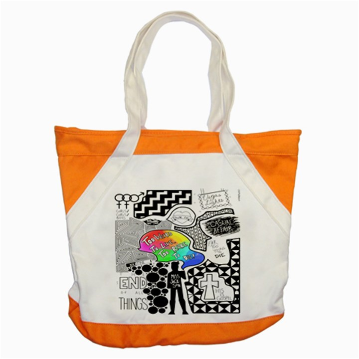 Panic ! At The Disco Accent Tote Bag