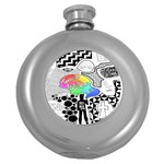 Panic ! At The Disco Round Hip Flask (5 oz) Front