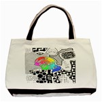 Panic ! At The Disco Basic Tote Bag (Two Sides) Back