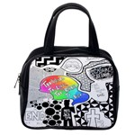 Panic ! At The Disco Classic Handbags (One Side) Front