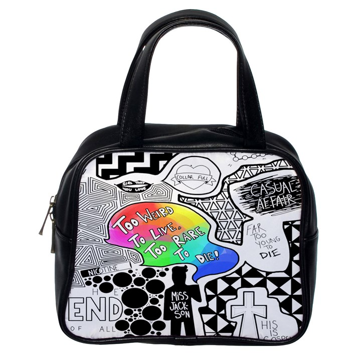 Panic ! At The Disco Classic Handbags (One Side)
