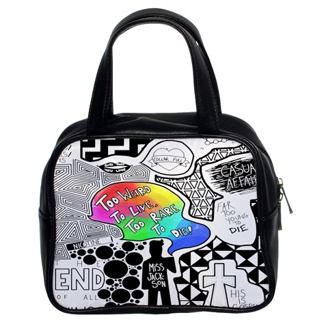 Panic ! At The Disco Classic Handbags (2 Sides)