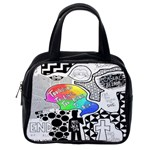 Panic ! At The Disco Classic Handbags (2 Sides) Back