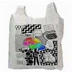 Panic ! At The Disco Recycle Bag (Two Side)  Back