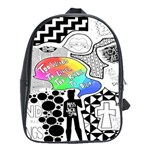 Panic ! At The Disco School Bags(Large)  Front