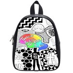 Panic ! At The Disco School Bags (Small)  Front