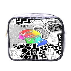 Panic ! At The Disco Mini Toiletries Bags