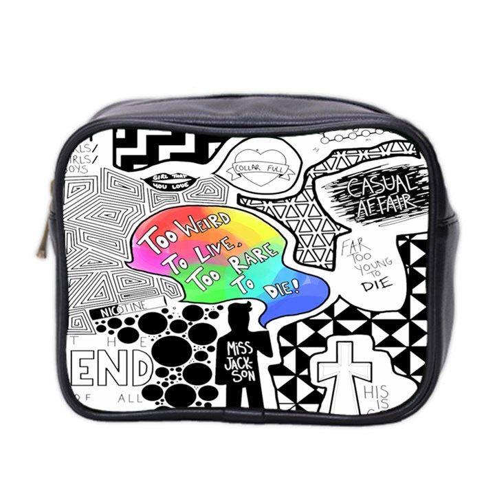 Panic ! At The Disco Mini Toiletries Bag 2-Side