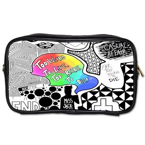 Panic ! At The Disco Toiletries Bags 2-Side