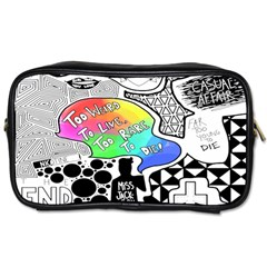 Panic ! At The Disco Toiletries Bags 2 Side