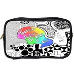 Panic ! At The Disco Toiletries Bags 2-Side Back