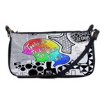 Panic ! At The Disco Shoulder Clutch Bags Front