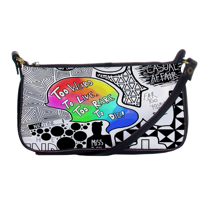Panic ! At The Disco Shoulder Clutch Bags