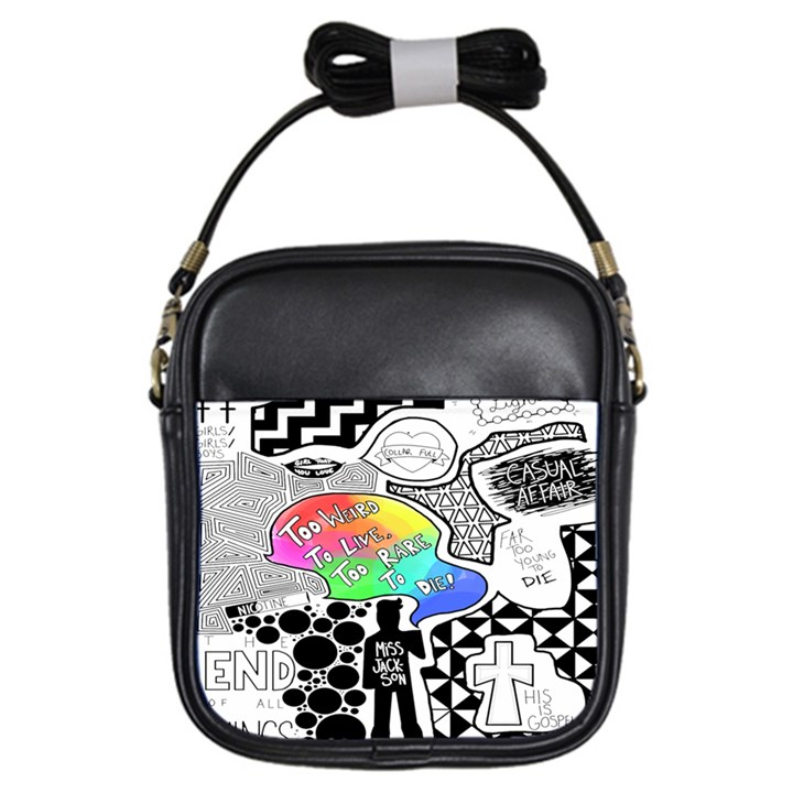 Panic ! At The Disco Girls Sling Bags