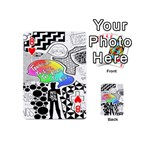 Panic ! At The Disco Playing Cards 54 (Mini)  Front - Heart8
