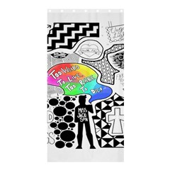 Panic ! At The Disco Shower Curtain 36  x 72  (Stall)