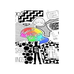 Panic ! At The Disco Shower Curtain 48  X 72  (small)