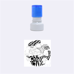 Panic ! At The Disco Rubber Round Stamps (small)