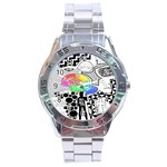 Panic ! At The Disco Stainless Steel Analogue Watch Front