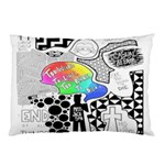 Panic ! At The Disco Pillow Case (Two Sides) Back
