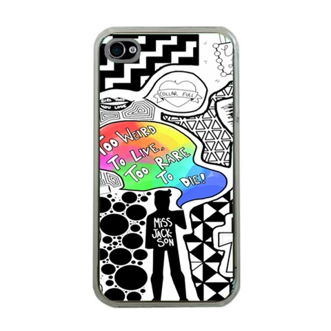 Panic ! At The Disco Apple iPhone 4 Case (Clear)