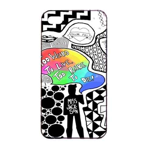 Panic ! At The Disco Apple iPhone 4/4s Seamless Case (Black)