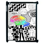 Panic ! At The Disco Apple iPad 2 Case (Black) Front