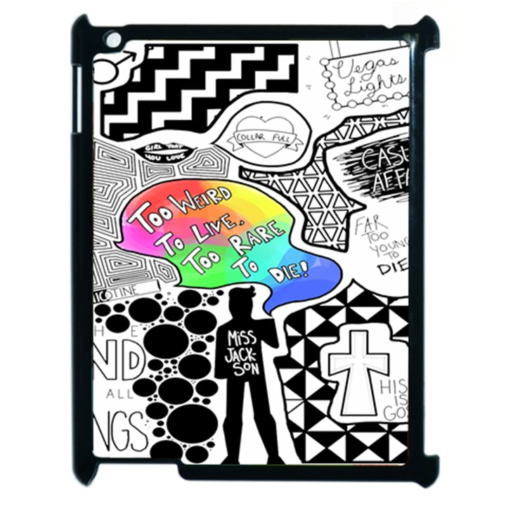 Panic ! At The Disco Apple iPad 2 Case (Black)