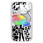 Panic ! At The Disco Samsung Galaxy S III Case (White) Front
