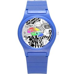 Panic ! At The Disco Round Plastic Sport Watch (S)