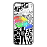 Panic ! At The Disco Apple iPhone 5 Case (Silver) Front