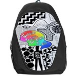 Panic ! At The Disco Backpack Bag Front