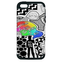 Panic ! At The Disco Apple iPhone 5 Hardshell Case (PC+Silicone)