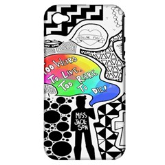 Panic ! At The Disco Apple iPhone 4/4S Hardshell Case (PC+Silicone)