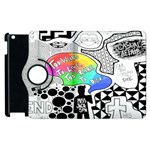 Panic ! At The Disco Apple iPad 3/4 Flip 360 Case Front