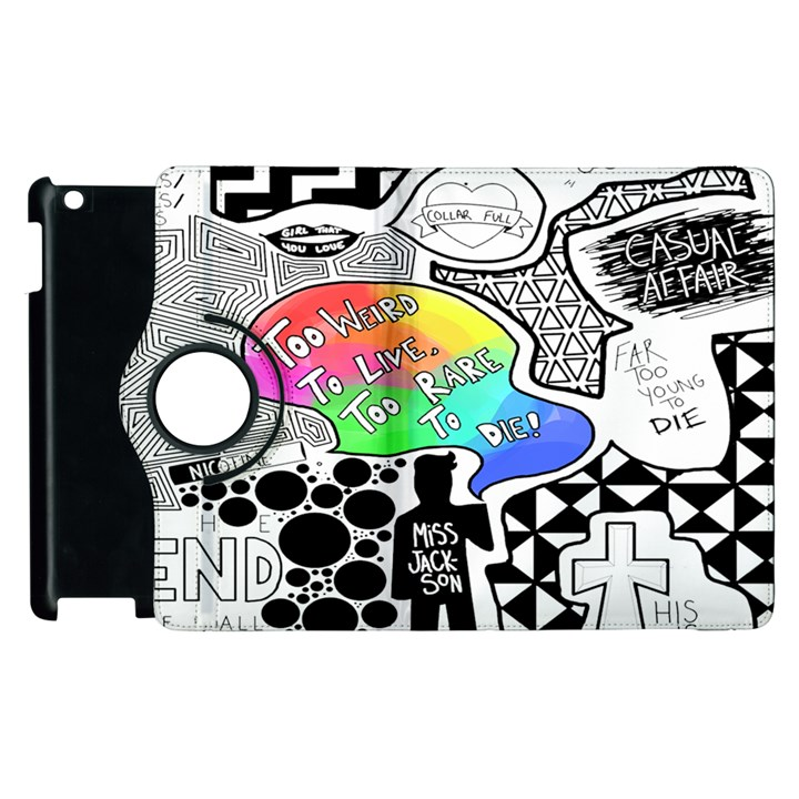 Panic ! At The Disco Apple iPad 3/4 Flip 360 Case
