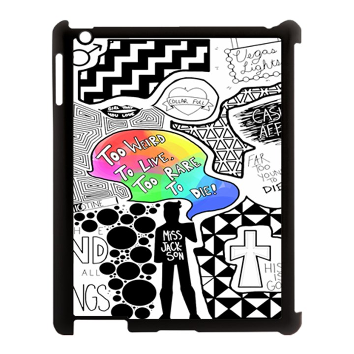 Panic ! At The Disco Apple iPad 3/4 Case (Black)
