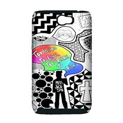 Panic ! At The Disco Samsung Galaxy Note 2 Hardshell Case (PC+Silicone)