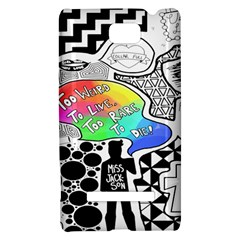 Panic ! At The Disco HTC 8S Hardshell Case